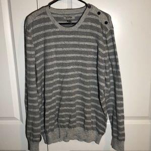 Kenneth Cole Grey Sweater XXL